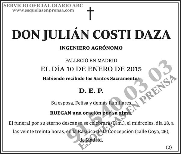 Julián Costi Daza